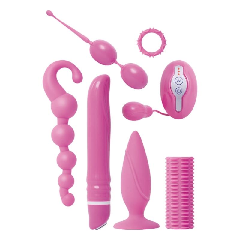 Набор различных секс игрушек Ultimate Couples Collection Pink