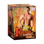 Секс лялька Fireman Love Doll, 30х6 см