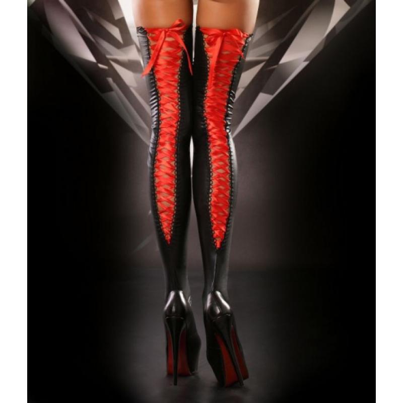 Панчохи зі шнурівкою Lolitta Lacing Stockings