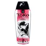 Ароматный лубрикант на водной основе Shunga Toko клубника и шампанское, 165 мл