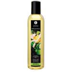 Органическое массажное масло Shunga Massage Organic Зеленый чай, 170 мл