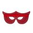 Таємнича маска з заклепками, червона