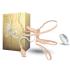 Двойной надувной страпон с вибрацией Double Vibrating, 16х3,5 см