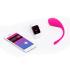 Виброяйцо со смарт-приложением и подключением к вебкам-чатам - Lovense Lush Bullet Vibrator, 18х3,4 см