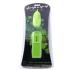 Виброяйцо, що світиться в темряві Glo-Glo a Go-Go Electric Lemon Flicker Tip Vibrating Bullet