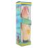 Вибратор гелевый Rubber pink vibrator, 22Х5 см