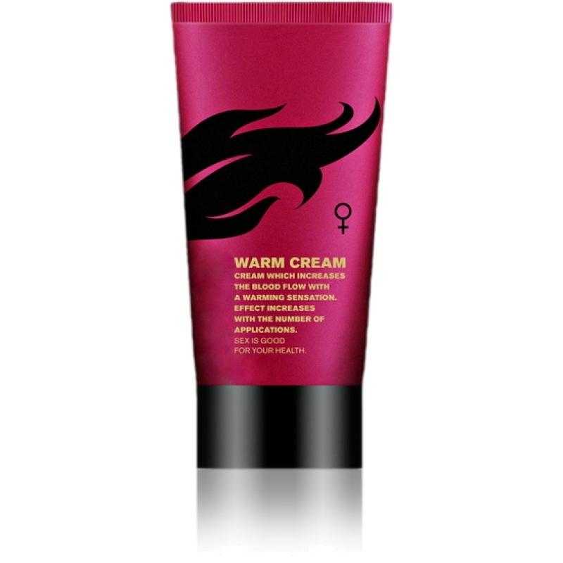 """Возбуждающий крем для женщин """"Warm cream"""", 50 мл"""