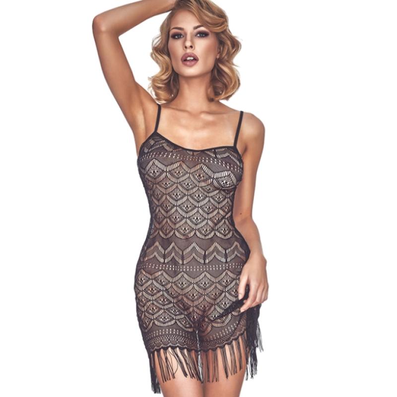 Эротическое платье с бахромой Anais Physis