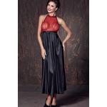 Довге еротичне сукня з відкритою спиною Anais Apolonya