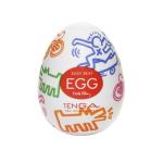 Мастурбатор-яєчко Tenga Keith Haring Street Egg Multicolored OS