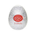 Мастурбатор-яєчко Tenga Keith Haring Party Egg White/Chrome OS