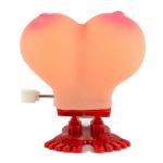 Игрушка-попрыгун грудь Plastic Sexy Jumping Jolly Pecker