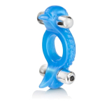 Эрекционное вибро-кольцо Double Dolphin