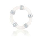 Эрекционное кольцо Metallic Bead Ring