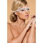 Металева маска для очей Obsessive A703, біла