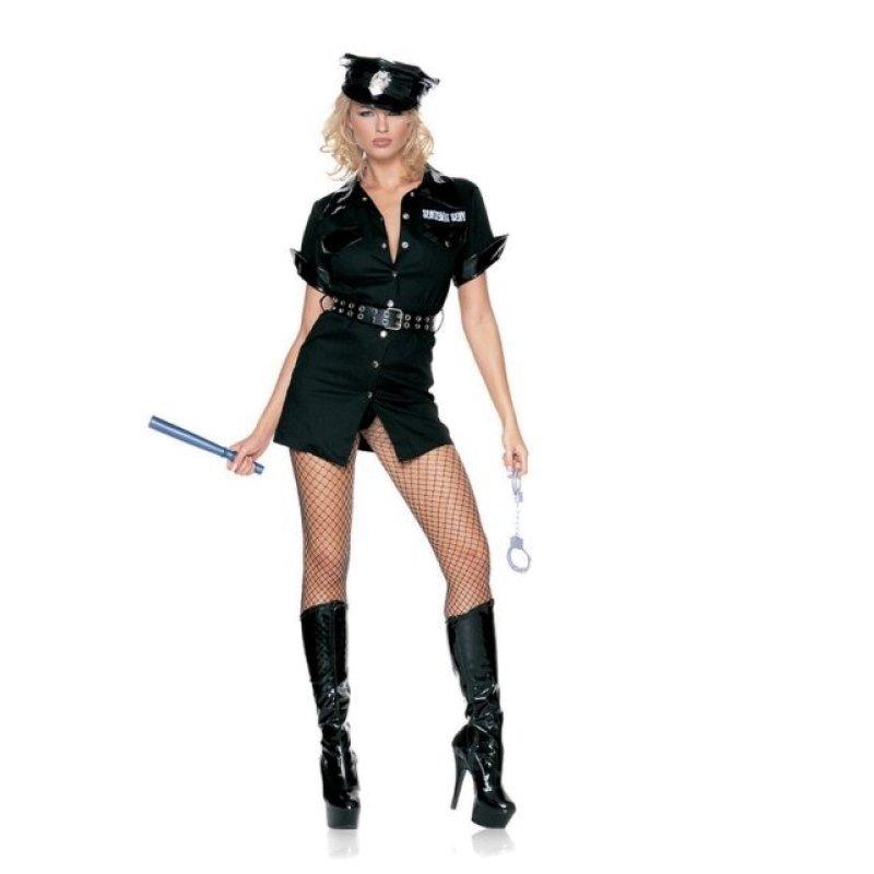 Секс с блондинкой полицейской интересно