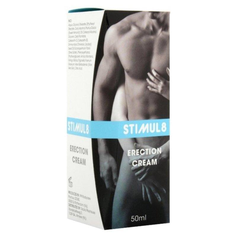 Крем для посилення ерекції Stimul8 Erection Cream, 50 мл