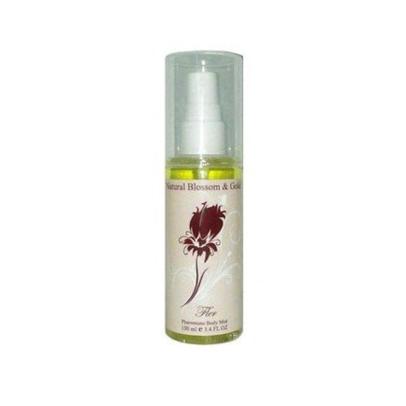 Тоник для тела с феромонами Natural Blossom & Gold Fler, 100 мл