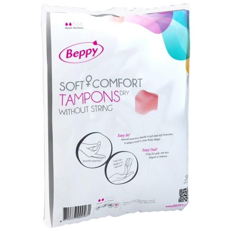 Безнитиевые тампоны Beppy Comfort Tampons Dry 30pcs