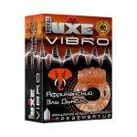 Презерватив и виброкольцо Luxe Vibro Африканский Эль Дьябло