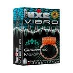 Презерватив і віброкільце Luxe Vibro Оксамитовий Молот