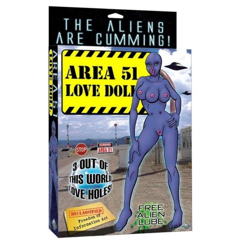 Лялька AREA 51