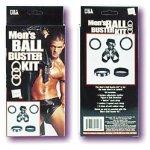 Ерекцеонное кільце «Men's Ball Buster Kit»
